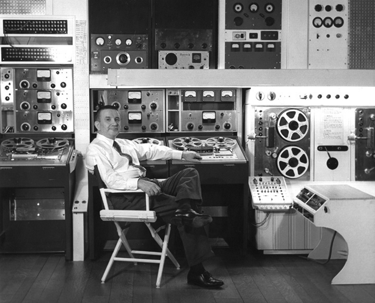 Raymond Scott in Studio (1955)